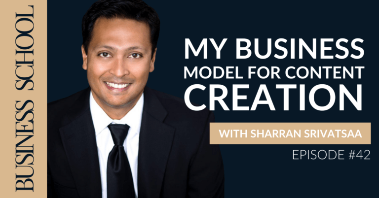 Episode 42: My Business Model for Content Creation